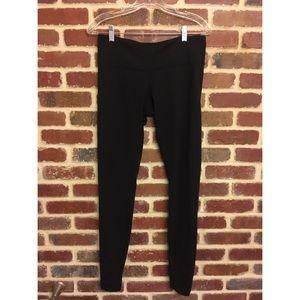 Lululemon black leggings size 8